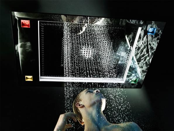Smart Home, Badezimmer, Dusche, Beleuchtung, Foto: Aloys F. Dornbracht GmbH & Co. KG