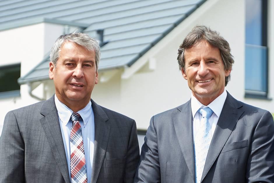 Bien-Zenker Geschäftsführer Belschak und Hauser, Foto: Bien-Zenker