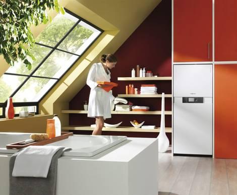 Gasheizung, Gastherme, Gas-Brennwertgerät, Warmwasserspeicher, Durchlauferhitzer