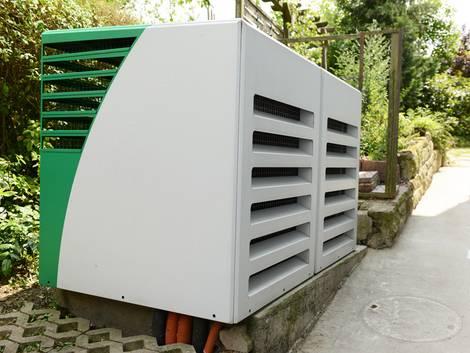 Wärmepumpe, Luftwärmepumpe, Foto: Bundesverband Wärmepumpe e.V.
