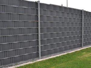 Sichtschutz, Doppelstabmatten mit Sichtschutz, Foto: magnesium2 / stock.adobe.com