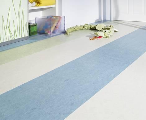 Ökologische Fußbodenbeläge, Linoleum, Foto: Armstrong DLW GmbH