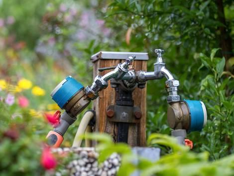 Kaltwasserleitung verlegen, Gartenwasserzähler, Foto: Tobias Arhelger - Fotolia.com