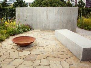Sichtschutz, Gartenmauer, Betonmauer, Foto: jiribic / stock.adobe.com