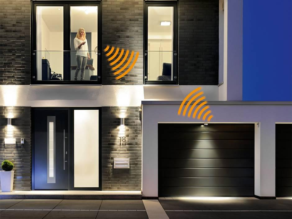 Smart Home, Garage, schlaue Garagentore, Abbildung: Hörmann KG