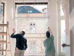 Fenster einbauen, Heimwerker, Foto: LBS