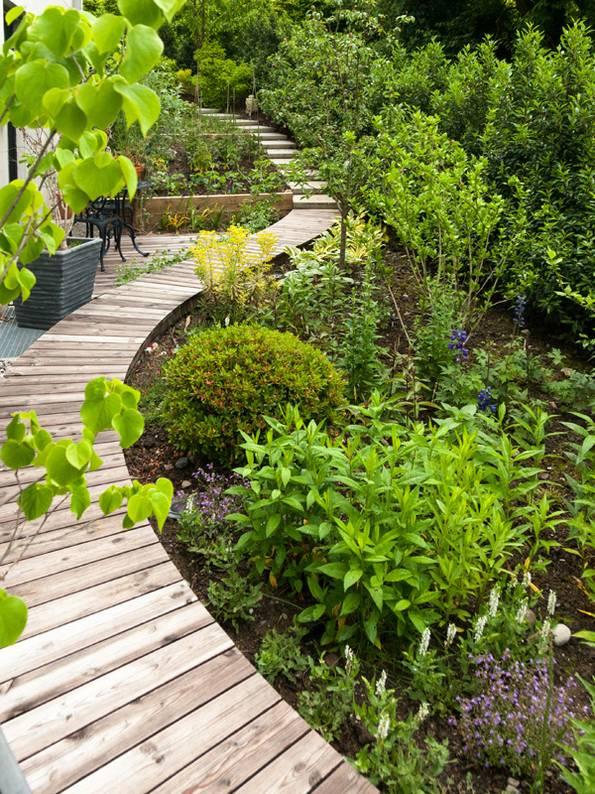 Kleiner Garten, Foto: Lechner Garden Design