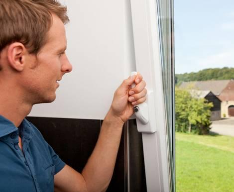 Fenstersicherung, Fenstergriff, abschließbar