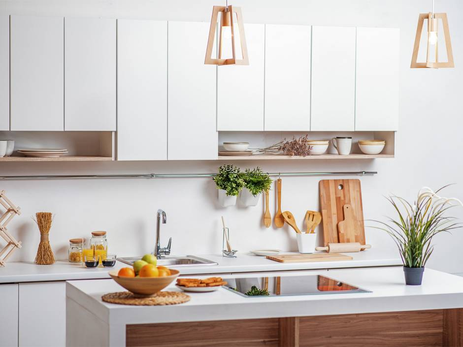 Latexfarbe, Küche, kein Fliesenspiegel, Foto: YakobchukOlena / fotolia.com