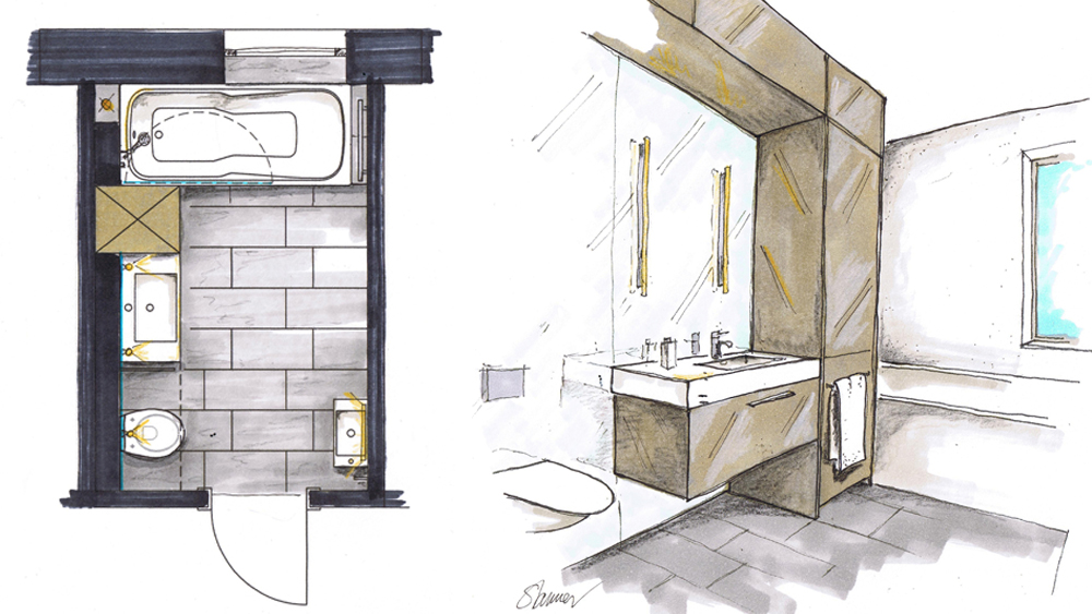 Das bad renovieren modernisierung f r jedes budget for Badideen grundrisse