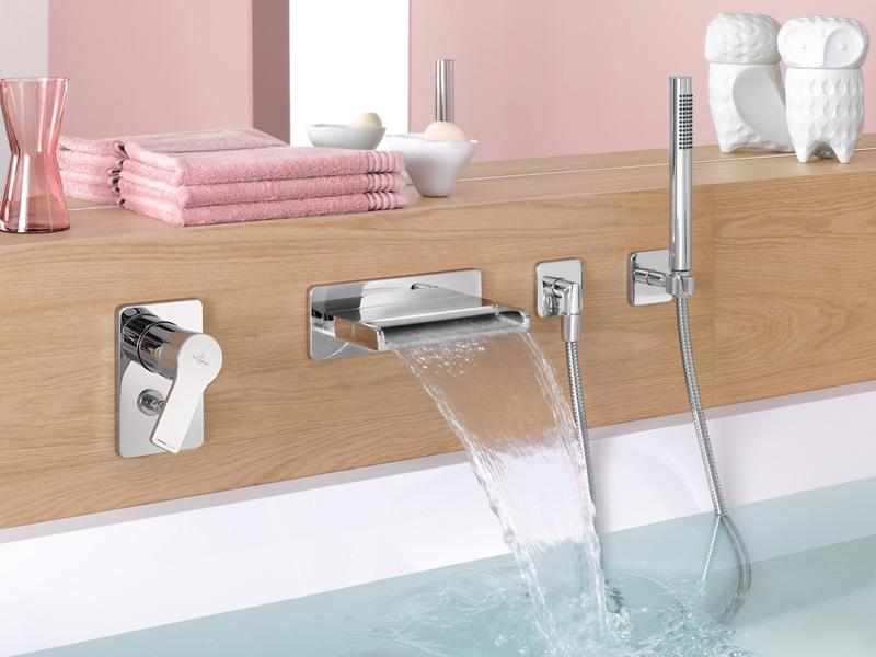 badarmaturen f r waschtisch dusche und badewanne. Black Bedroom Furniture Sets. Home Design Ideas