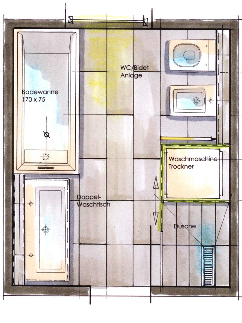 größe badezimmer