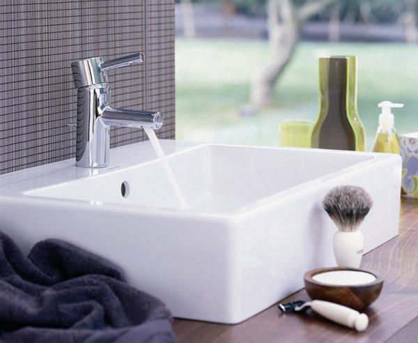waschtisch materialien modelle formen. Black Bedroom Furniture Sets. Home Design Ideas