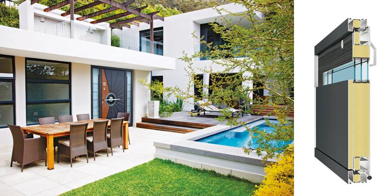 die richtige haust r wichtig sind sicherheit und w rmeschutz. Black Bedroom Furniture Sets. Home Design Ideas