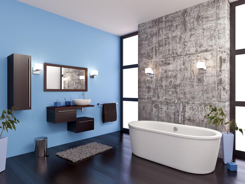 ▷ Latexfarbe in Bad und Küche ▷ Alternative zu Fliesen - bauen.de