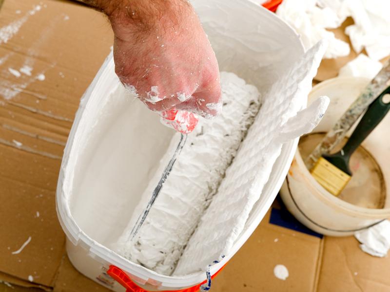 Latexfarbe Küche Fett ▷ latexfarbe in bad und küche ▷ alternative zu fliesen - bauen.de