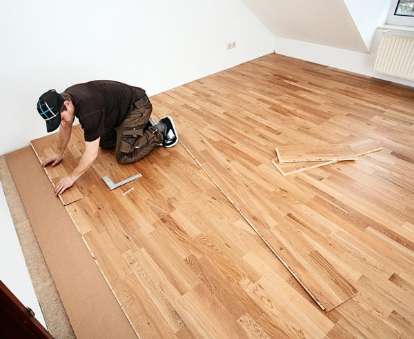 Schnell Und Einfach Holzboden Schwimmend Verlegen Bauen De