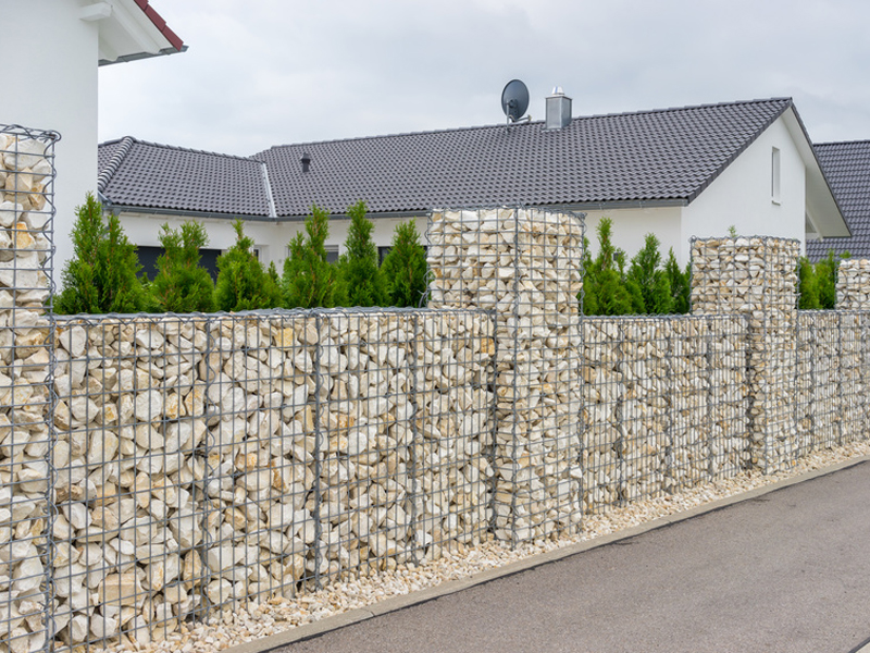Prächtig Der Zaun – Arten, Materialien, Aufbau - bauen.de #ET_83