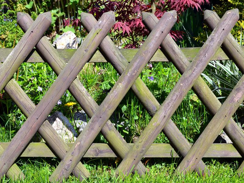 Der Zaun Arten Materialien Aufbau Bauende