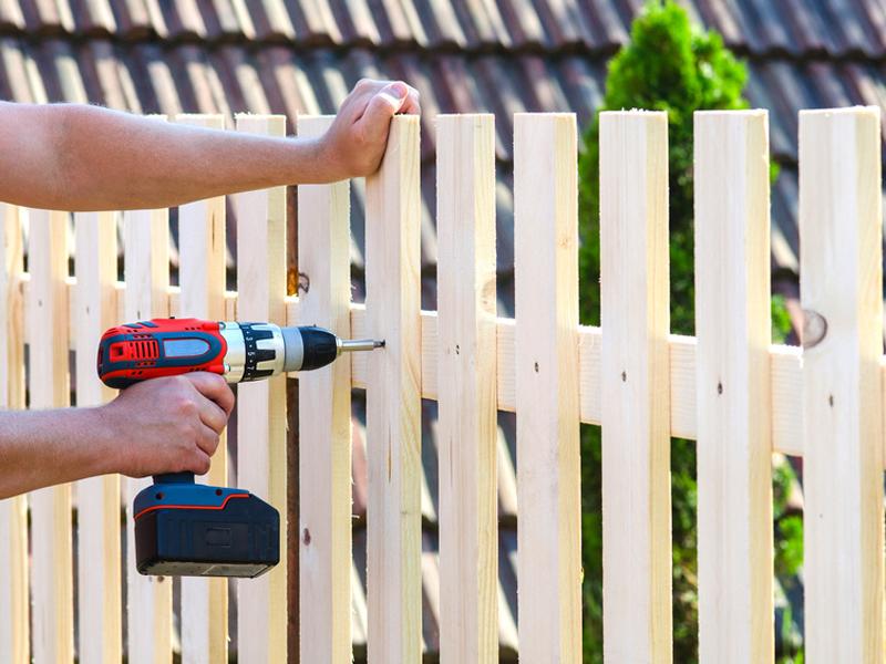 Der Zaun Arten Materialien Aufbau Bauen De