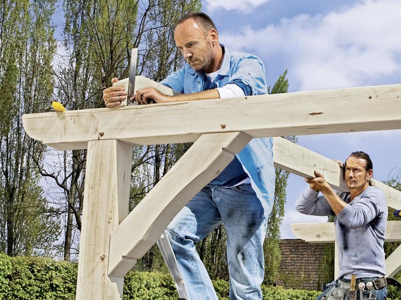 terrassenueberdachung selbstbau