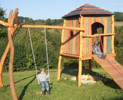 Leben mit kindern spielger te f r den eigenen garten - Gartengestaltung kinder ...