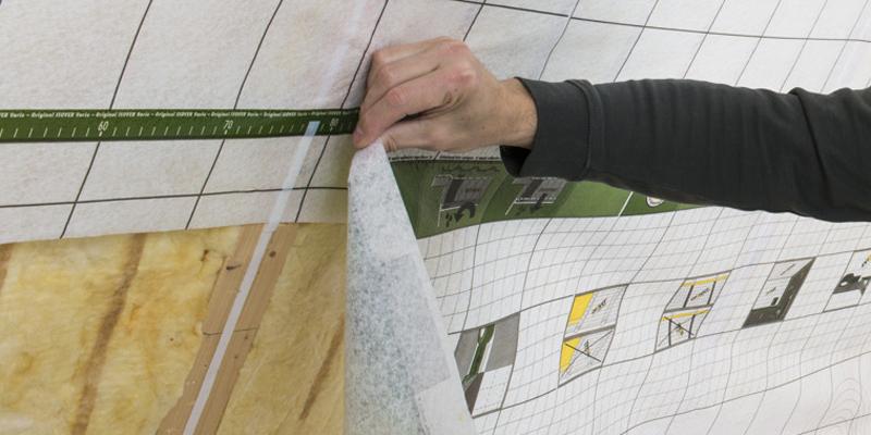 dampfsperre anbringen schritt f r schritt erkl rt. Black Bedroom Furniture Sets. Home Design Ideas