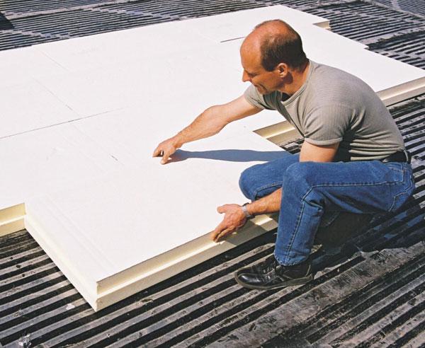 flachdach d mmen eine sache f r profis oder erfahrene heimwerker. Black Bedroom Furniture Sets. Home Design Ideas