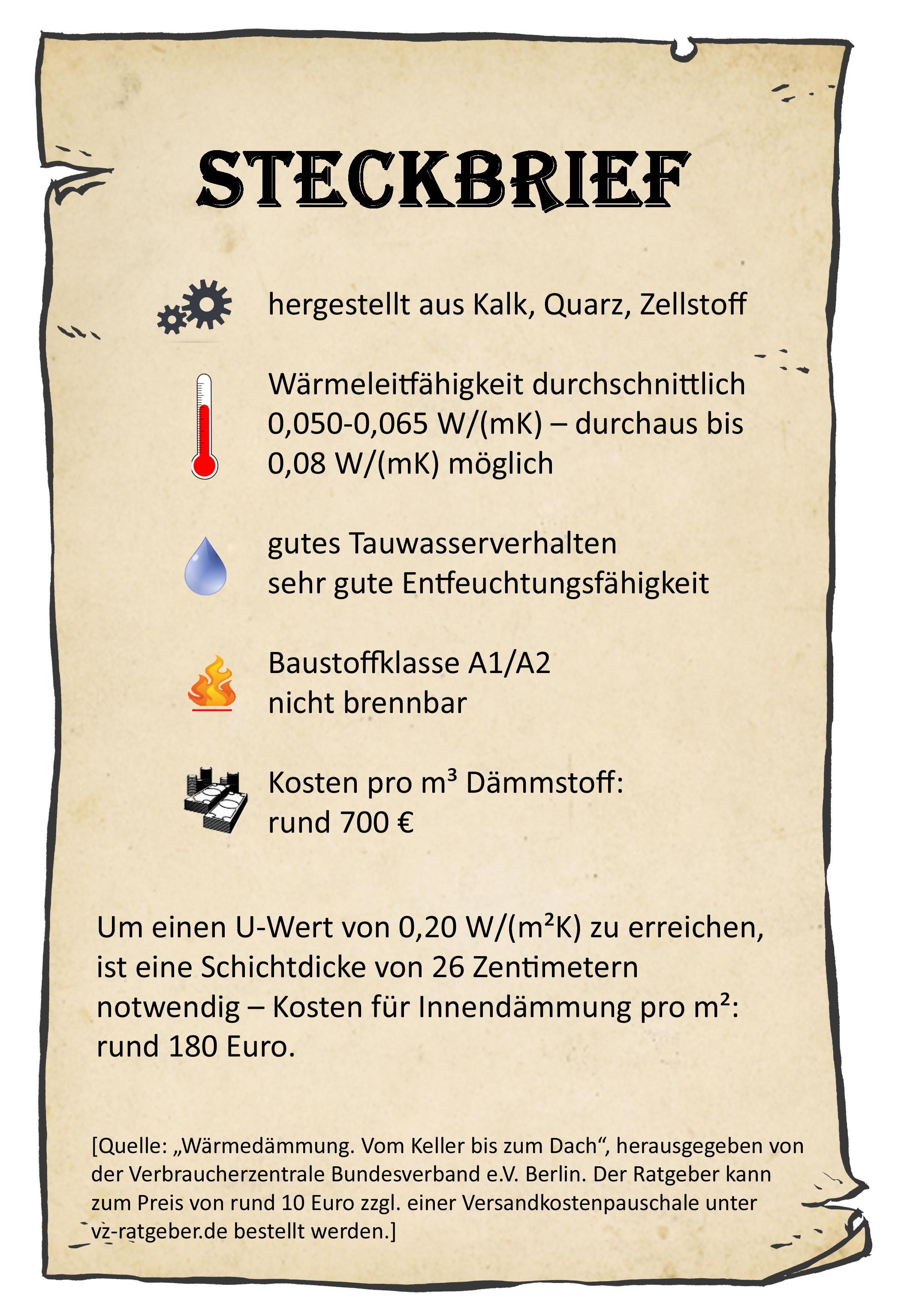 Beliebt ▷ Innendämmung mit Kalziumsilikatplatten ▷ So geht's - bauen.de XD52