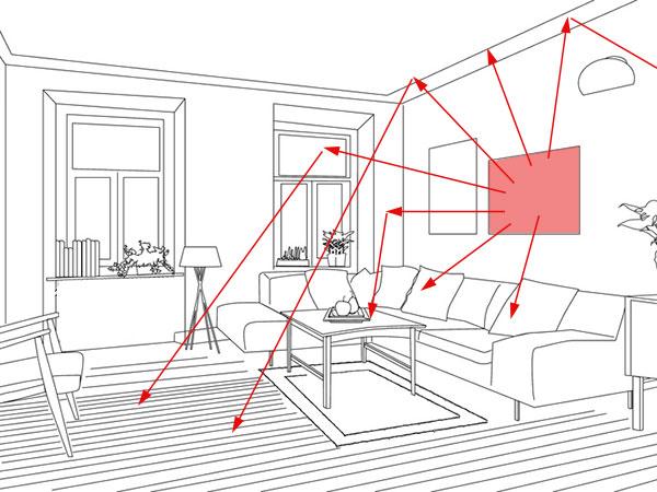 infrarotheizung deckenmontage infrarotheizung wann sich eine solche elektroheizung lohnt bauen de. Black Bedroom Furniture Sets. Home Design Ideas