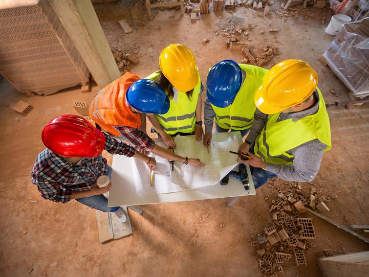 Baufirma finden probe aufsatz bastelanleitung