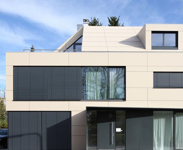 Fassade Erneuern sanieren mit fassadenplatten - bauen.de