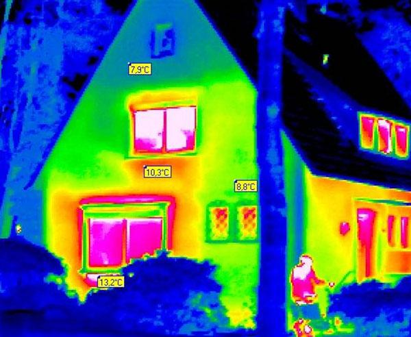 energetische sanierung schwachstellen mit der w rmebildkamera erkennen. Black Bedroom Furniture Sets. Home Design Ideas