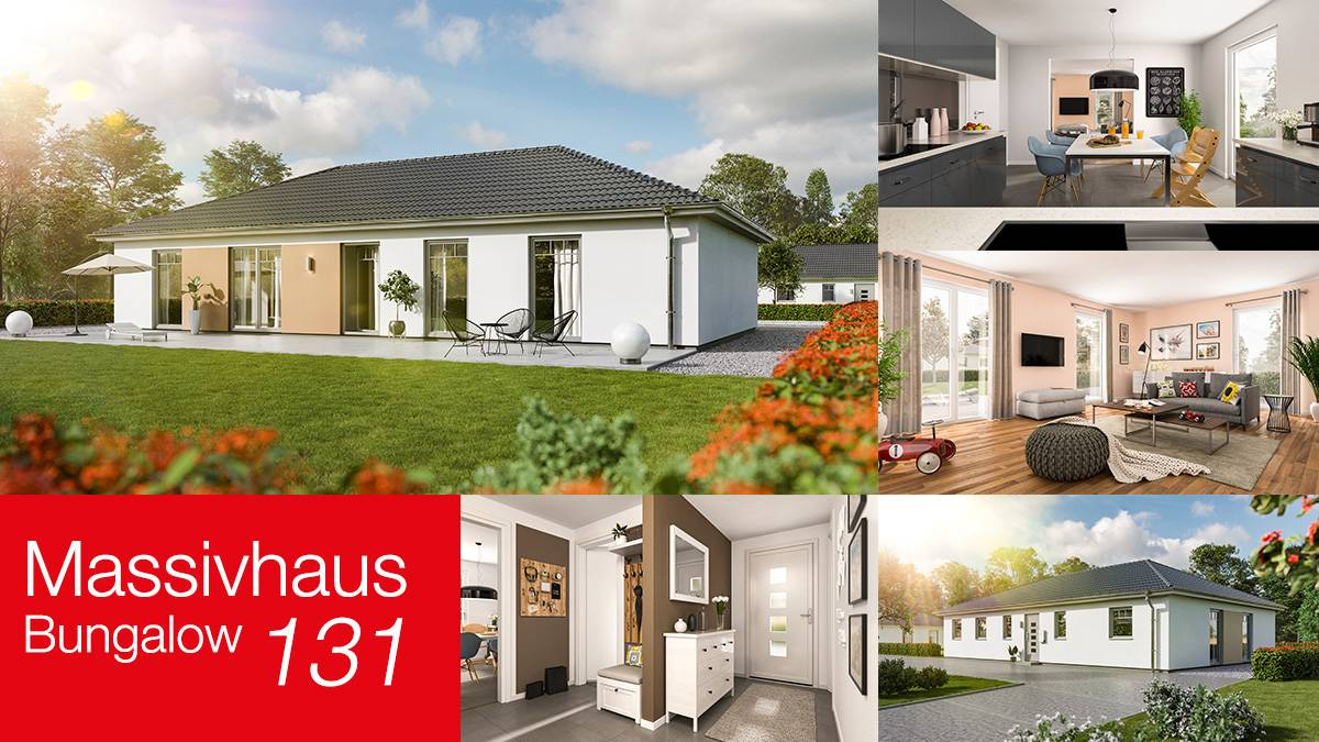 Town & Country Massivhaus Bungalow 131