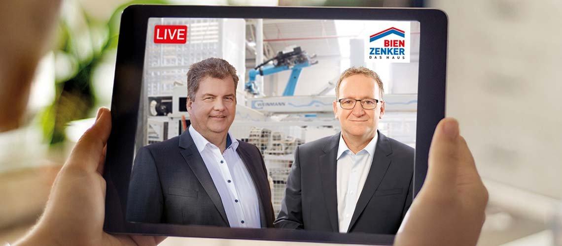 Hausbau-Infotag im Live-Stream