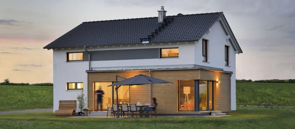 Fertighaus WEISS – Haus Grauer